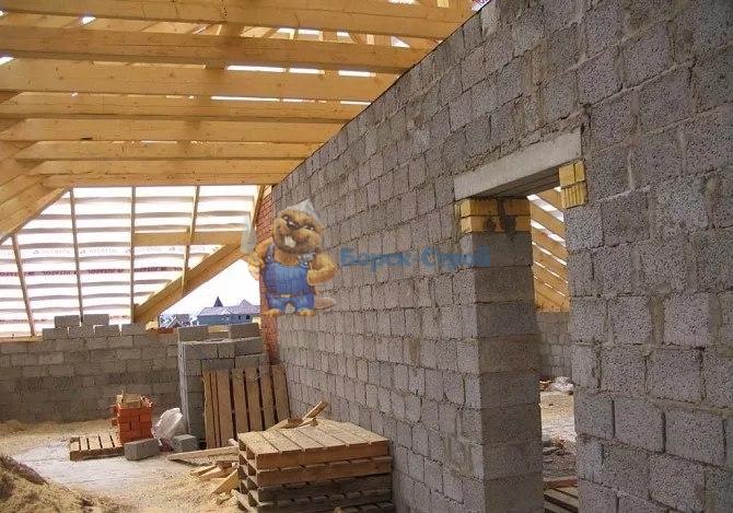 строительство дома из керамзитбетона