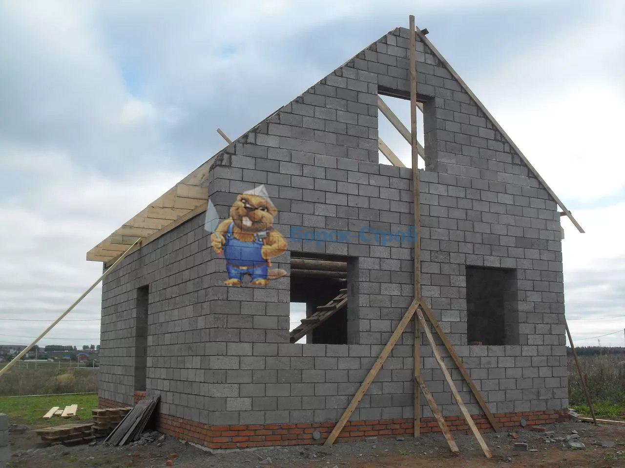 строительство керамзитбетонного дома