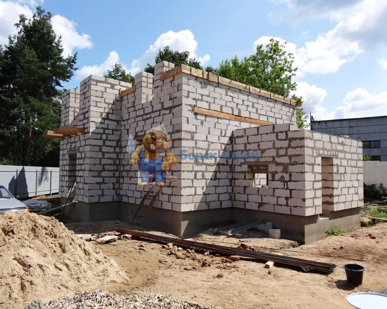 строительство пеноблочных домов