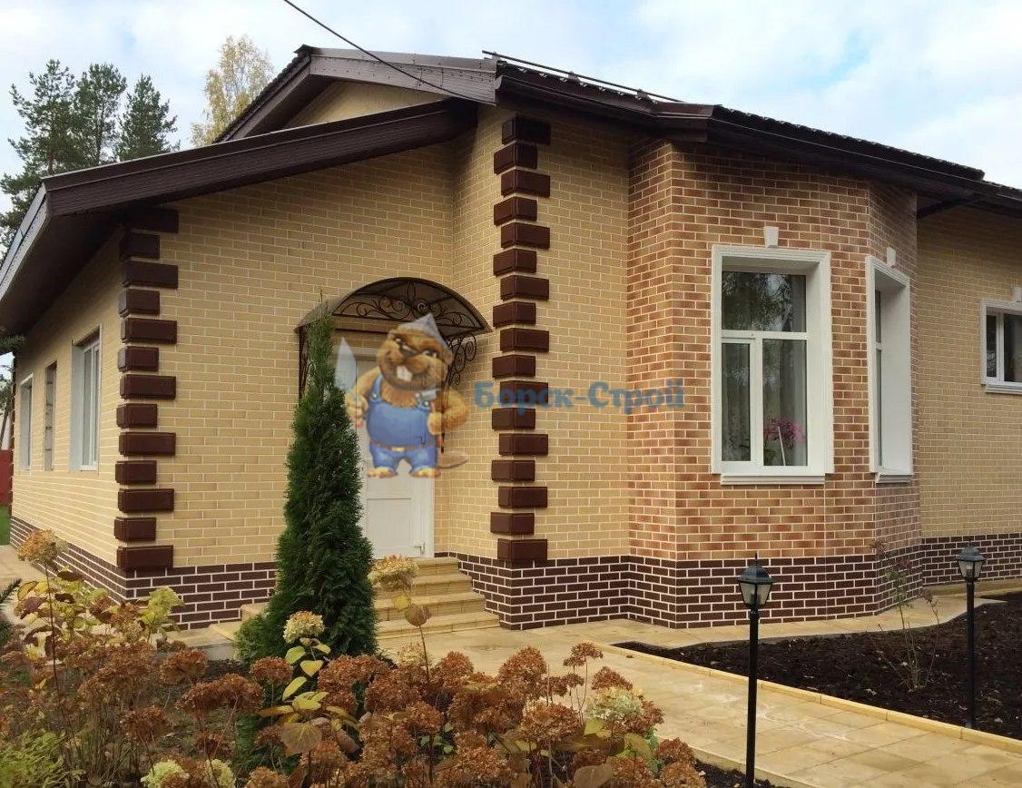 дом с фасадом из термопанелей