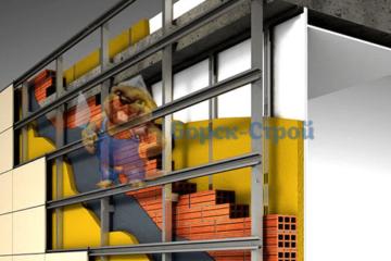 Отделка и обшивка фасадов